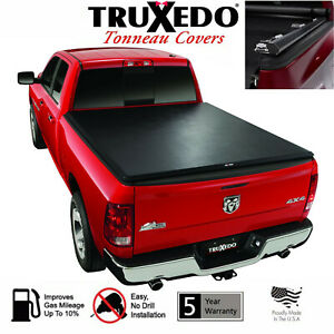 Truxedo Truxport Tonneau Cover Roll Up 2019 Dodge Ram 1500 5 7 Bed W Rambox