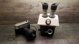Bausch Lomb Stereo Zoom 7 Microscope Camera 10xw f Stereo Lens