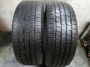 2 255 45 20 105h Continental Cross Contact Lx Silent Tires 8 32 0218