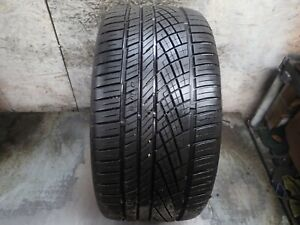 1 295 35 21 Continental Extreme Contact Dws 06 Tire 8 5 9 32 No Repairs 1618