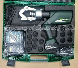 Greenlee Gator Ek12idl Battery Hydraulic Crimper 12 Ton Dieless Crimping Tool
