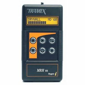 Tramex Mrh3 Moisture And Humidity Meter digital