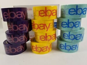 Ebay Packaging Tape Lot Of 12 2 x75 Yards Shipping Tape 12 Rolls Free Shipping