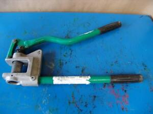 Greenlee Model 710 1 Inch Knock Out Stud Punch Works Fine
