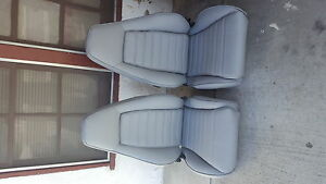 Porsche 911 912 930 Turbo Sport Seats Reupholstered German Vinyl Beautiful