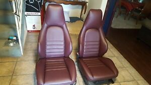 Porsche 944 911 951 964 968 85 94 Sport Seat Kit Leather german Vinyl Beautiful