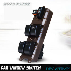 Fit Toyota Corolla Matrix 2003 2008 Front Driver Side Window Master Switch