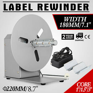 Automatic Label Tag Rewinder Rewinding Machine Home Practical Forward reverse