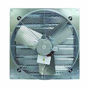 Tpi Corporation Ce24 ds Direct Drive Exhaust Fan Shutter Mounted Single Phase