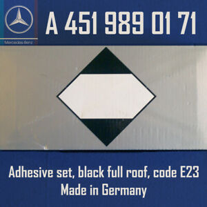 Lot Of 2 Mercedes Benz Adhesive Set Black Full Roof Code E23 A4519890171 Oem