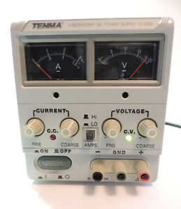 Tenma 72 2005 Variable Dc Power Supply With Power Cord