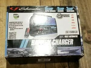Schumacher 6v 12v 15 Amp Fully Auto Battery Charger Ssc 1500a New Free Shipping