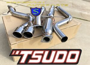 Tsudo Catback Exhaust System For 2013 2017 Ford Focus St 2 0l Turbo 3
