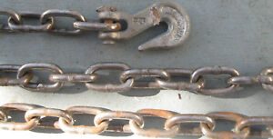 20 X 1 4 Heavy Duty Tow Logging Rigging Chain Free Priority Shipping
