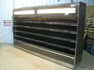 Hill Phoenix 12 Open Air In Line Refrigerated Multi Deck Grocery Display Case