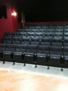 80 Used Auditorium Theater Seating Cinema Movie Chairs Seats 125 Each
