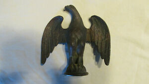 Awesome Bronze Eagle Finial 5 3 4 Tall
