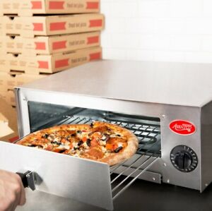 Steel Electric Pizza Oven Commercial Kitchen Countertop Baking Rack Snack To Go