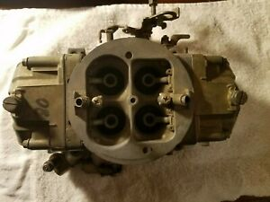 Holley 850 Cfm Carbuerator Double Pumper Dual Feed 4781 1 Works Amazing