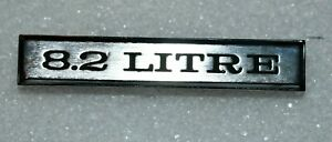 1970 Cadillac Eldorado 8 2 Litre Grill Badge New
