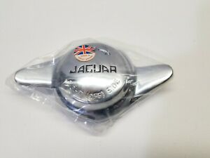1 New Vintage Jaguar Motor Car Knock Off Knockoff Wheel Spinners Rh Wire Cap Gb