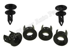 Rear Bumper Sensor Pad Retainer Housing Inner Outer 6pcs For Silverado 2008 2013
