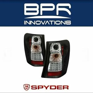 Spyder Auto Led Black Clear Tail Lights Fits 99 04 Jeep Grand Cherokee 5005663