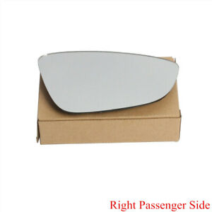 Right Passenger Side Rearview Mirror Glass W Heated For Vw Cc Eos 09 16 Gli Mk6