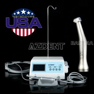 Dental Lab Implant System Brushless Motor 20 1 Implant Contra Angle Handpiece