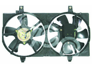 For Nissan Sentra Se R Spec V 2 5l 02 06 Radiator Ac A C Condenser Cooling Fan