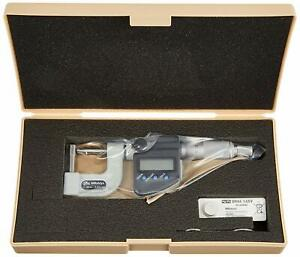 Mitutoyo Tube Micrometer Spherical And Cylindrical Anvil Type Bmb4 25mx Japan