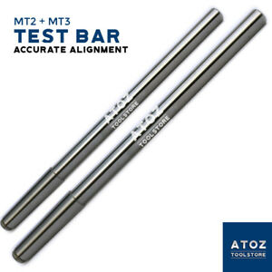 Combo Mt2 Mt3 Align Your Lathe Alignment Test Mandrel Morse Taper 2