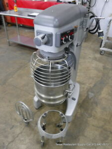 Hobart Legacy Hl 400 40 Qt Dough Mixer With Bowl Dolly