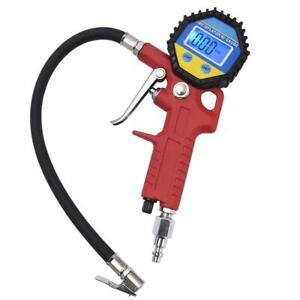 Mictuning Portable Tire Inflator Digital Tire Pressure Gauge With Lock On Air