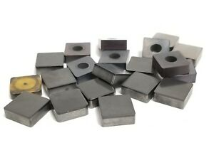 Lot Of Cbn Tipped Carbide Inserts Sng