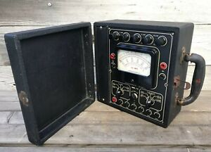 Rare Vintage Multimeter Superior Instruments Co New York Model 710