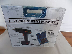 Znex Eagle Usa Ci 122 12v Cordless Power Tool 3 8 Impact Wrench Set New