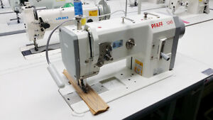 Pfaff 1245 Industrial Walking Foot Sewing Machine Leather Upholstery