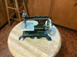 German Antique Toy Sewing Machine Mueller S