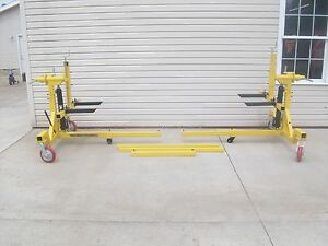 New Car Rotisserie Car Body Rotater Rotator Rot4500 Fast Shipping