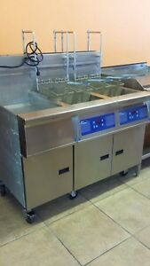 Pitco Deluxe Fryer Auto Lift Filter Programmable Alarm Ect Extra Clean