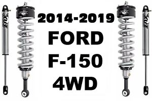 Fox 2 0 Performance Series Front Coil Over Rear Shocks For 14 19 F 150 4wd