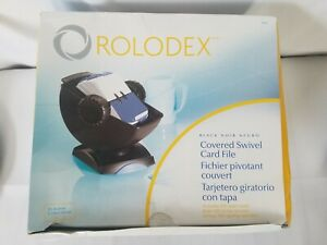 Rolodex Covered Rotary Swivel Card File model 66871