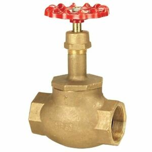 Nibco Bronze Globe Valve Kt 211 w Ul 2 Threaded