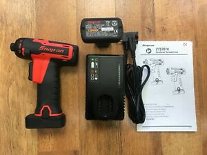 Snap On Cordless Screwdriver Kit Cts761ao