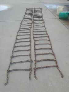 Tractor Tire Chains john Deere Farmall allis Chalmers Case ford oliver others