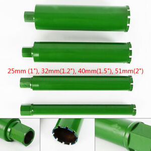 4pc Wet Diamond Core Drill Bit For Concrete Premium Green Series 1 2 Usa New
