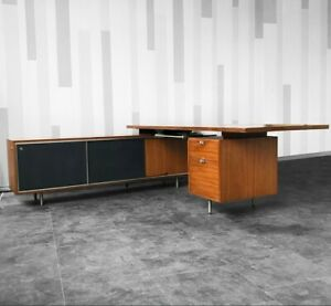 Mid Century George Nelson Executive Desk