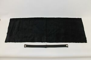 1956 62 Corvette Gas Tank Cover Felt And Convertible Top Straps New