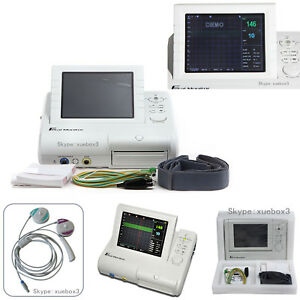 Contec Fetal Monitor Fhr Toco Fmov Real Time Machine 3 In 1 Probe Ce Cms800g